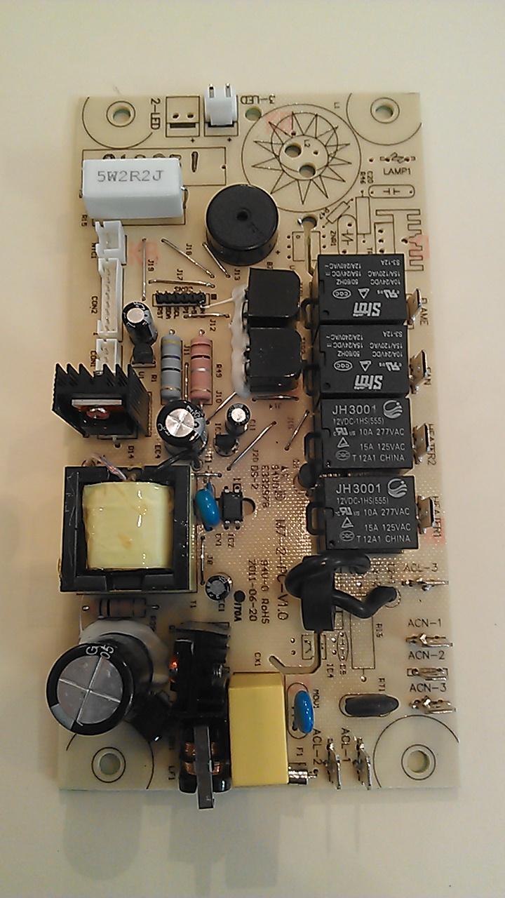 Heat Surge Roll n Glow M7Series Circuit Board 418